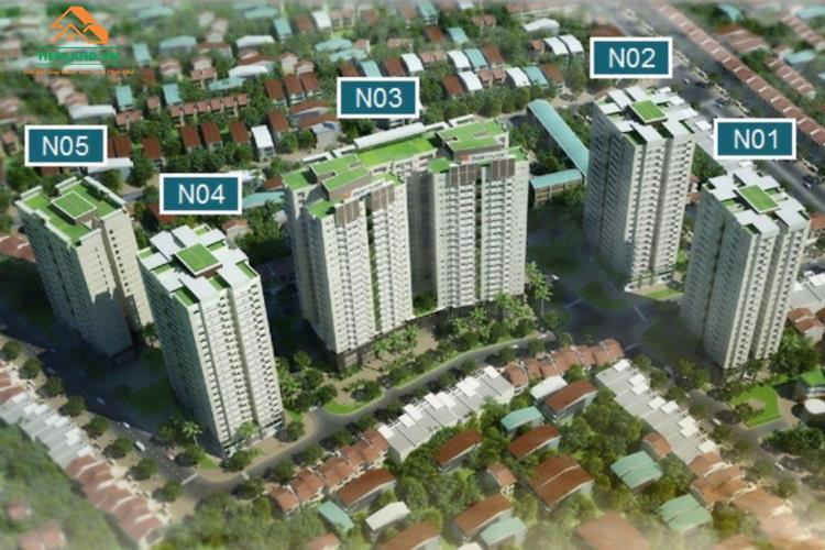Vị trí dự án Berriver Jardin Long Biên