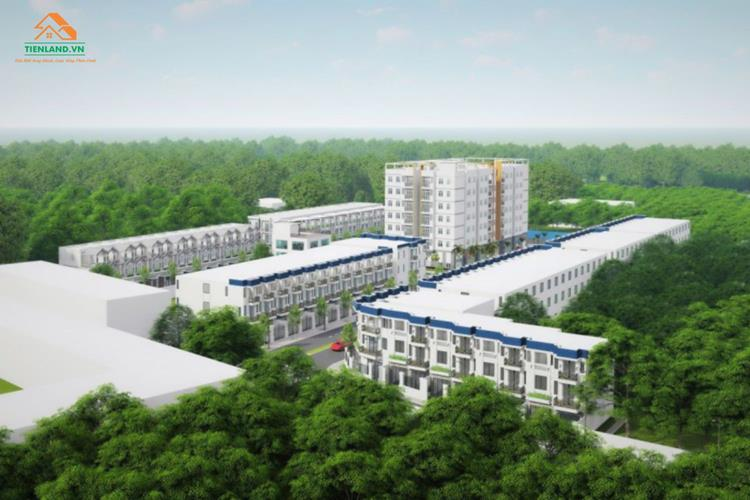 Phối cảnh dự án Khu đô thị An Phú Cần Thơ