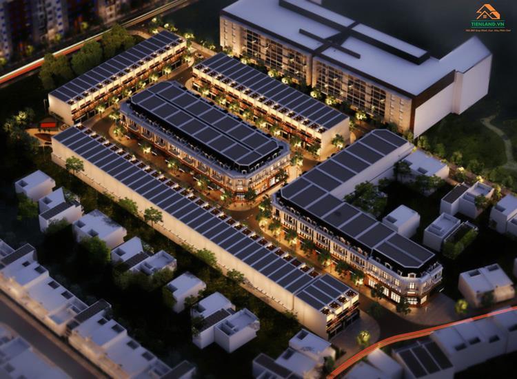 Phối cảnh tổng thể dự án Thuận An Garden Home