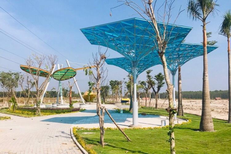 Công viên dự án Đức Phát 3 Bàu Bàng