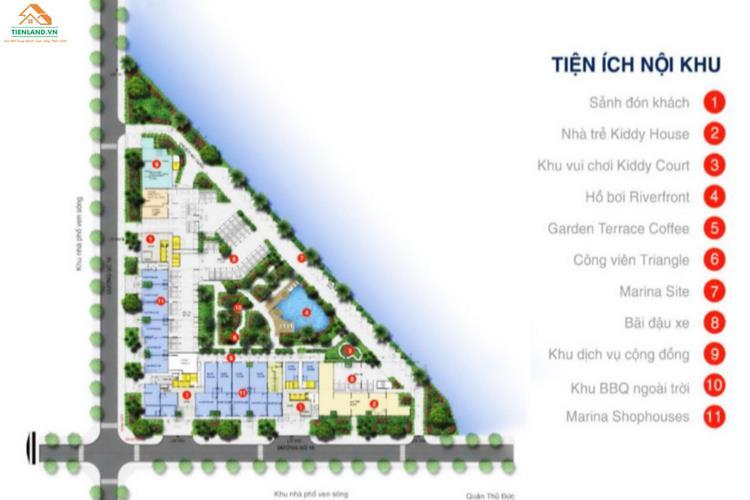 Tiện ích ngoại khu dự án Marina Riverside