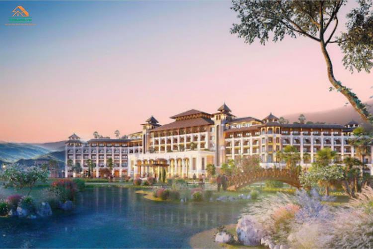 Tổng thể dự án biệt thự Vinpearl Tuyên Quang