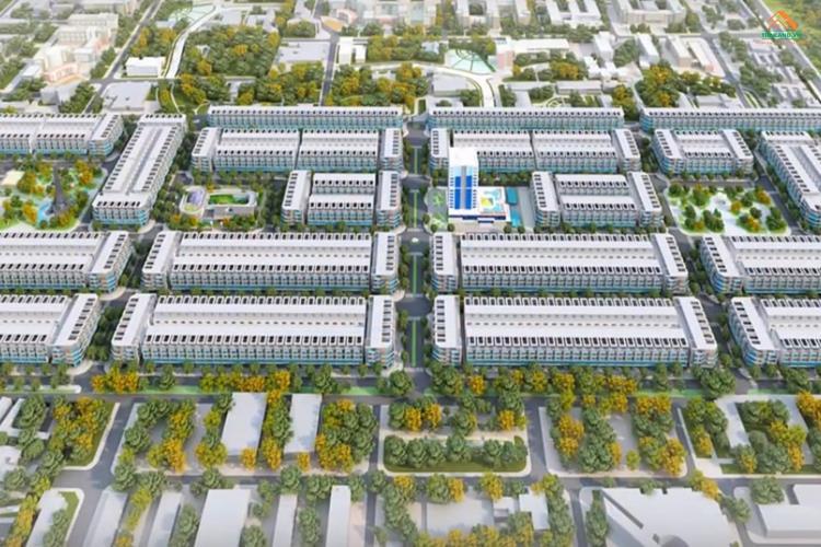 Vị trí dự án Center City 3 Bàu Bàng