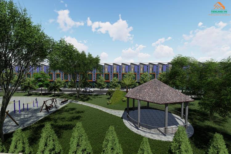 Công viên nội khu dự án Hưng Thịnh Golden Land