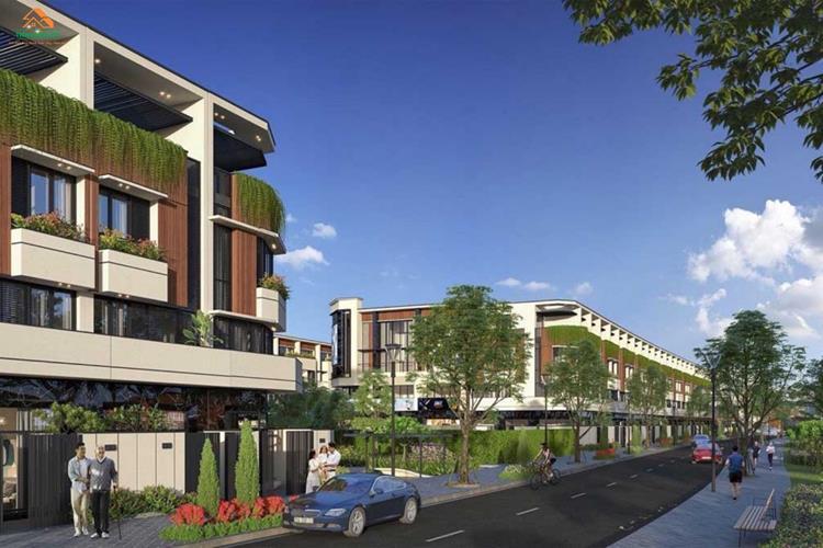 Nhà phố tại dự án The Sol City Long An