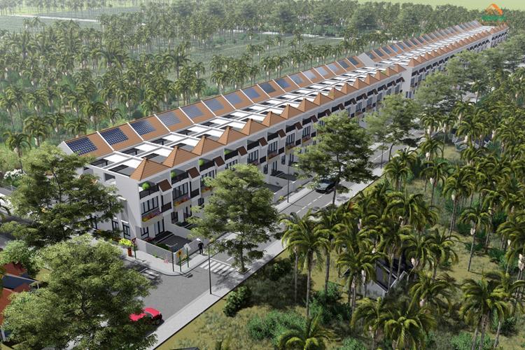Phối cảnh dự án đất nền Thân Cửu Nghĩa Village