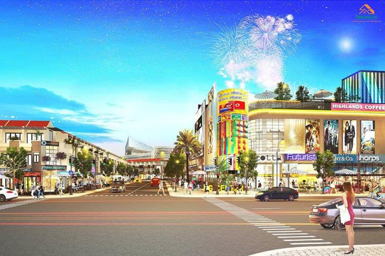 Trung tâm mua sắm tại dự án Richland Residence Bình Dương
