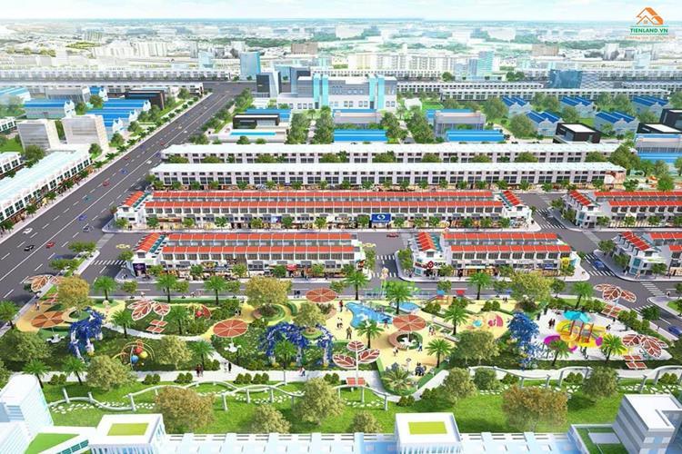 Phối cảnh dự án đất nền Richland Residence Bình Dương