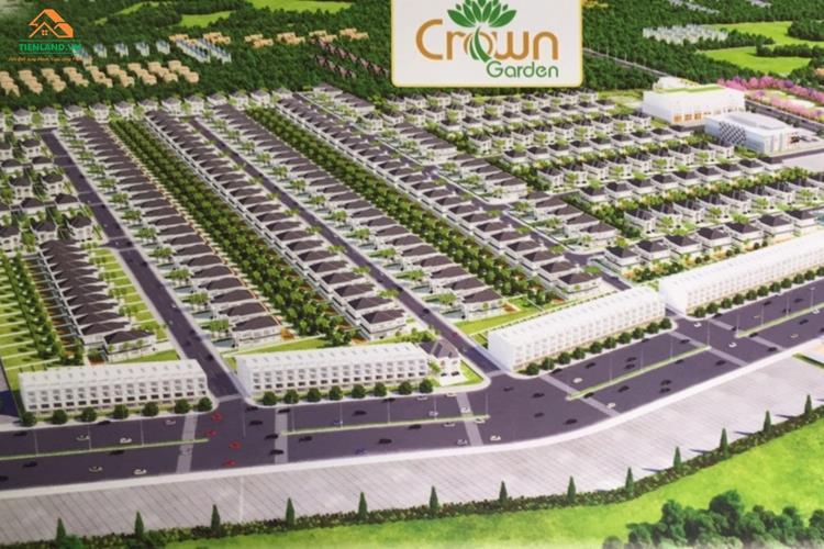 Phối cảnh dự án đất nền Crown Garden Bình Dương