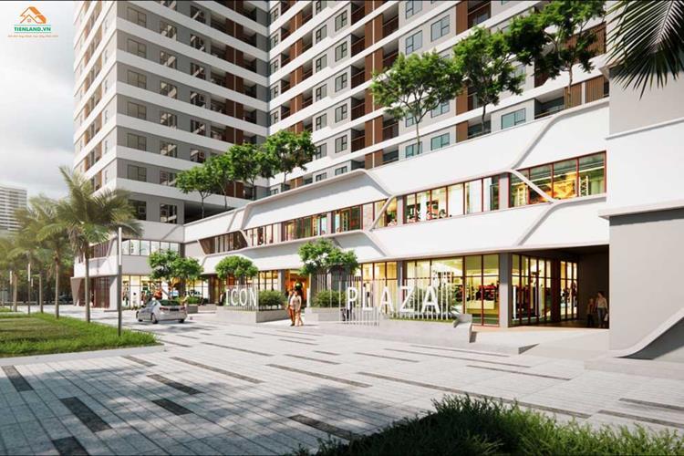 Trung tâm thương mại dự án Icon Plaza Apartment Bình Dương