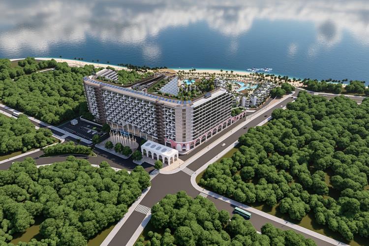 Toàn cảnh dự án Charm Resort Long Hải