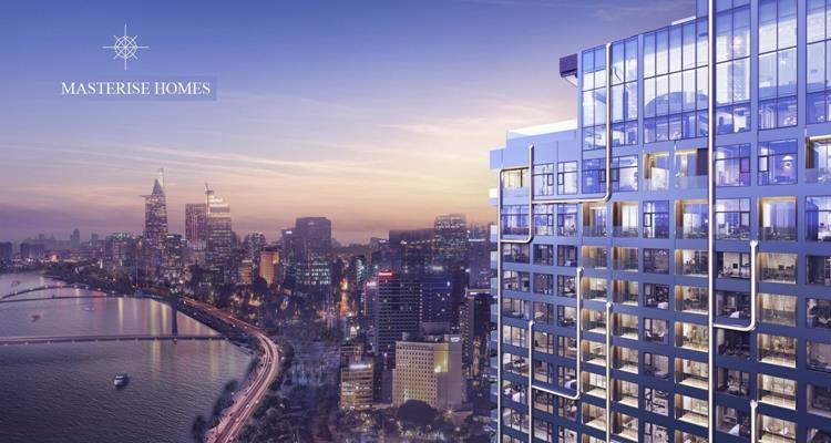 Tầm nhìn đắt giá hướng về trung tâm của khu căn hộ Grand Marina Saigon