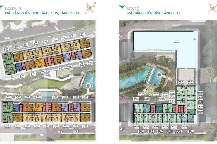 Mặt bằng tầng căn hộ Lavita Thuận An