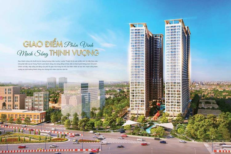 Tổng thể khu căn hộ Lavita Thuận An