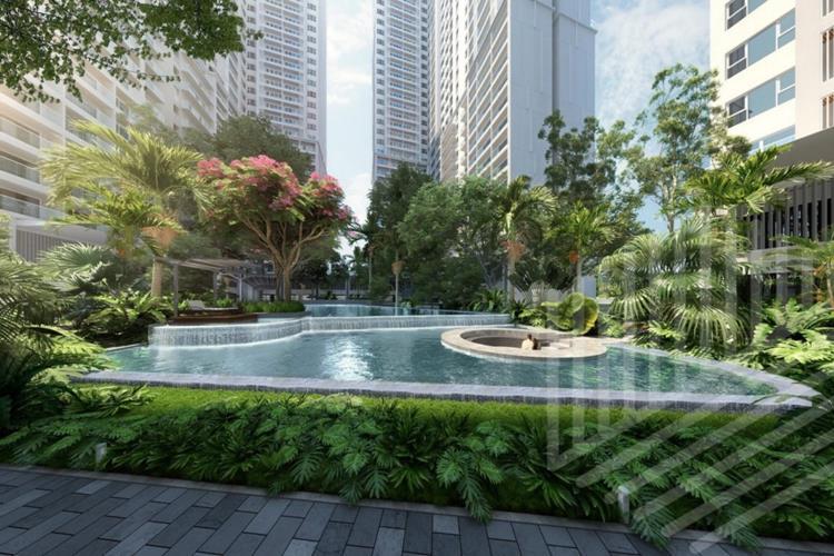 Hồ bơi khu căn hộ Lavita Thuận An