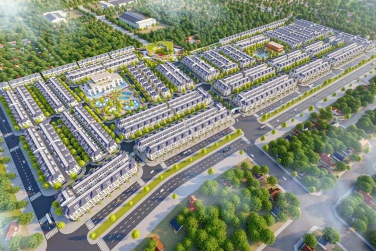 Phối cảnh khu đô thị STC Long Thành Đồng Nai