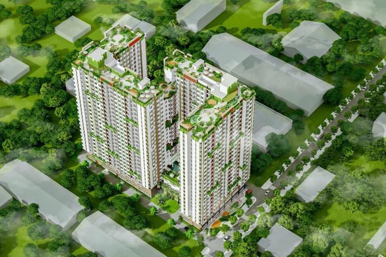 Mặt bằng của khu căn hộ Ben Hill Thuận An