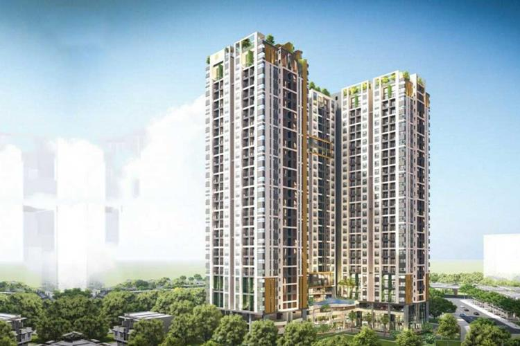 Phối cảnh khu căn hộ Ben Hill Thuận An