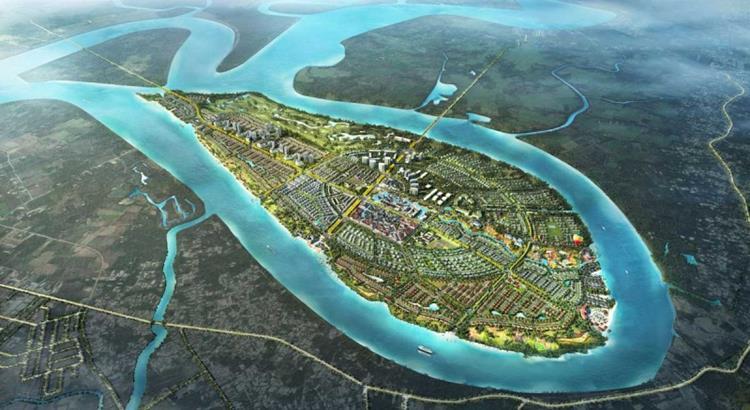 Tổng thể khu đô thịSwanbay Oasia Đại Phước