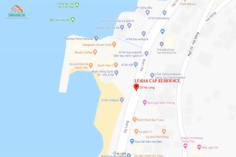 Vị tri của dự án Léman Cap Residence