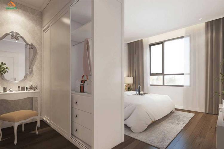 Phòng ngủ tại dự án The Rivana