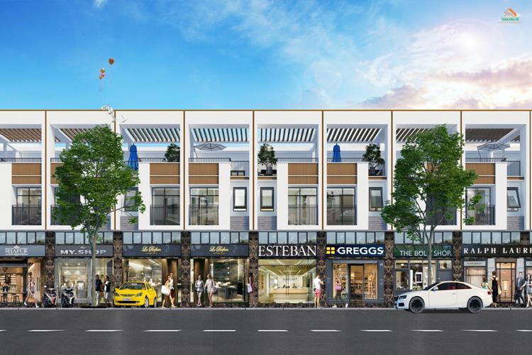 Trung tâm nội khu dự án City Zone