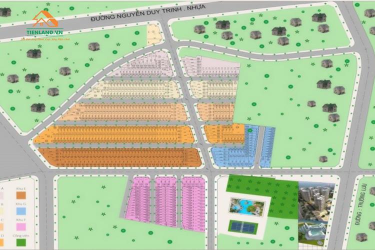 Mặt bằng Nam Khang Residence quận 9