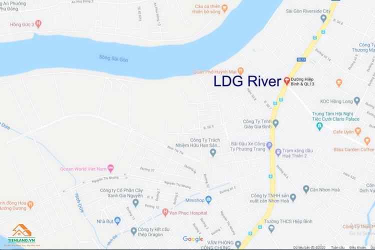 Vị trí đắc địa của LDG River Thủ Đức