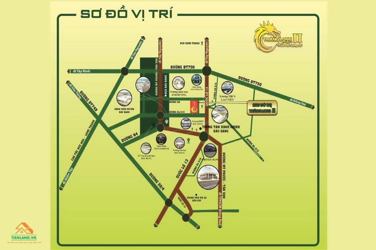 Vị trí dự án Thăng Long Residence II
