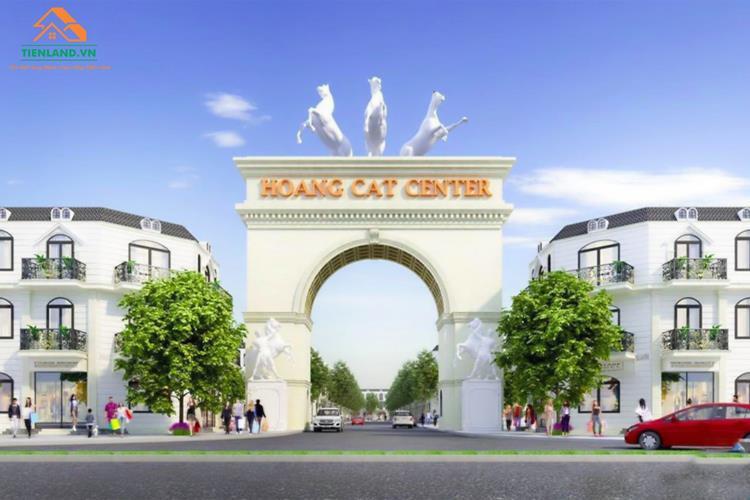 Phối cảnh dự án Hoàng Cát Center Bàu Bàng