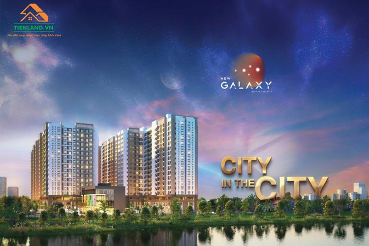 Phối cảnh dự án căn hộ New Galaxy Dĩ An