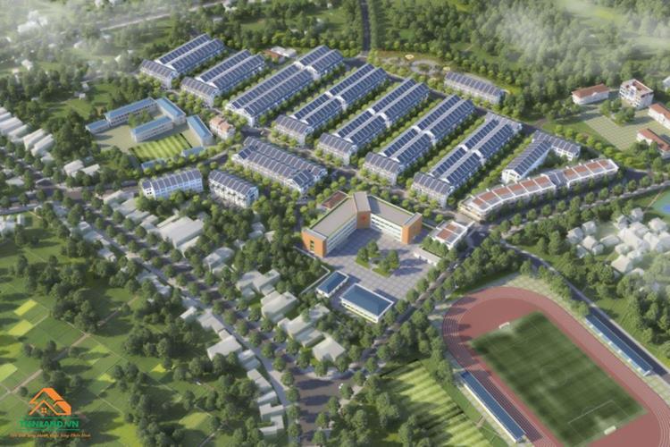 Phối cảnh dự án Đại Từ Garden City Thái Nguyên