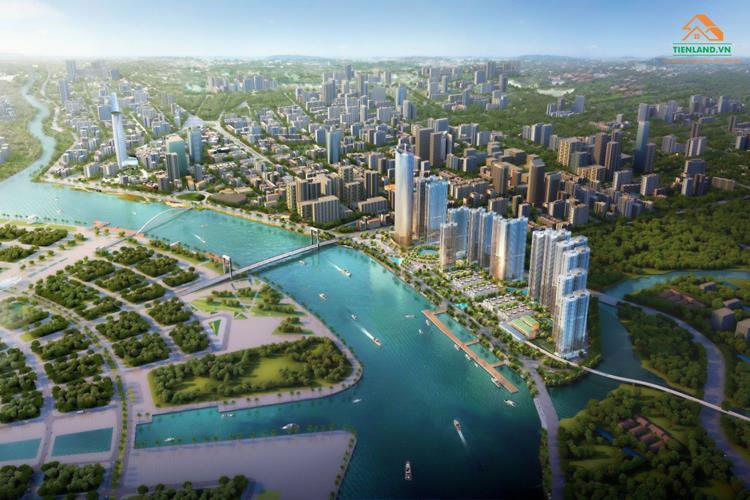 Phối cảnh dự án Masterise Limiere Riverside