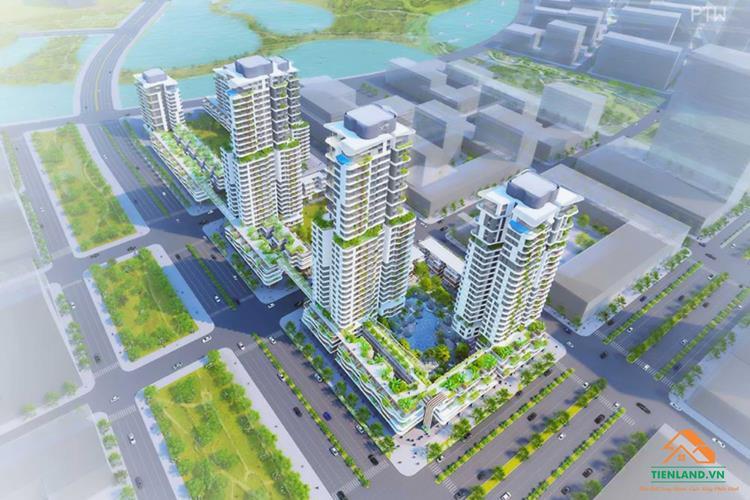 Phối cảnh dự án Xi Thủ Thiêm Quận 2