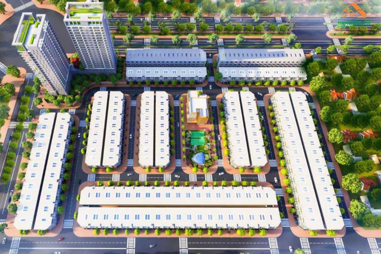 Phối cảnh dự án The Centre House Nhơn Trạch